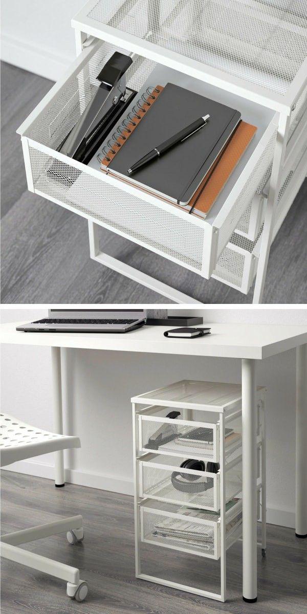 Le Nouveau Catalogue Ikea 2020 Va Nous Endormir Meuble De Bureau Ikea Meuble Bas Rangement Meuble Bas Salle De Bain