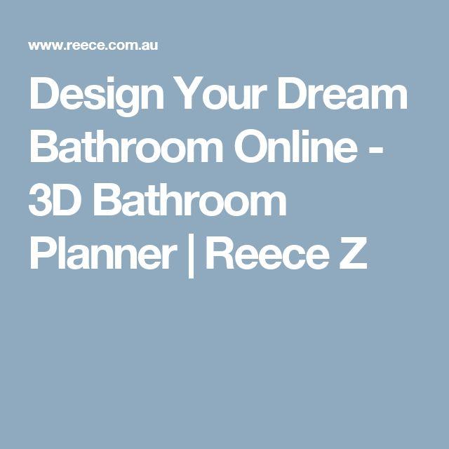 Design Your Dream Bathroom Online - 3D Bathroom Planner | Reece Z