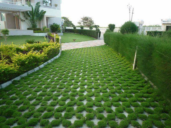 grass pavers driveway pavers ideas house exterior landscaping ideas