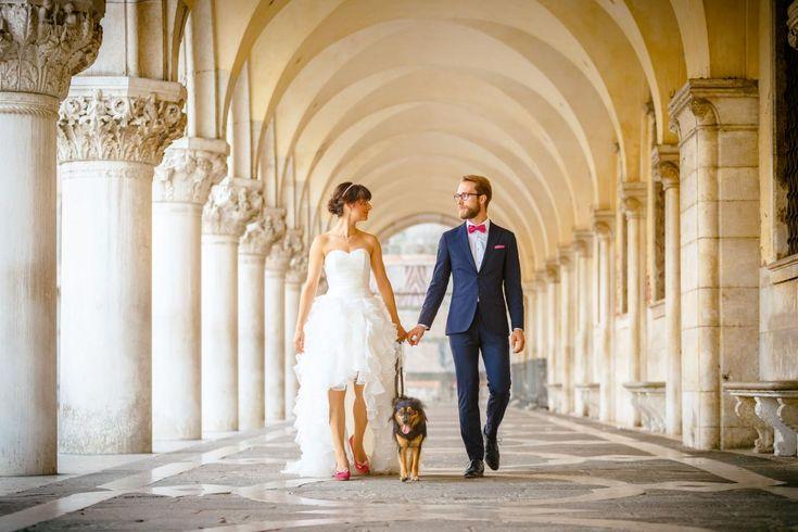 Im letzten Sommer haben Gianna und Lucas eine wunderbare Hochzeit gefeiert. Ihre Flitterwochen verbrachten die Zwei mit einer Tour durch die Toskana, mit Zwischenstopp in Venedig. Foto: ROCKSTEIN fotografie