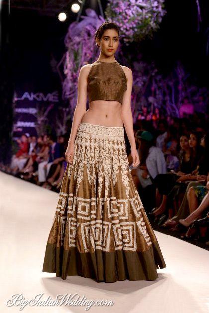 Manish Malhotra Lakme Fashion Week 2014   Lehengas & Sarees   Bigindianwedding