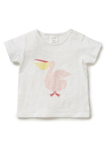 Baby Girls Shirts Tops Tees | Pelican Tee | Seed Heritage
