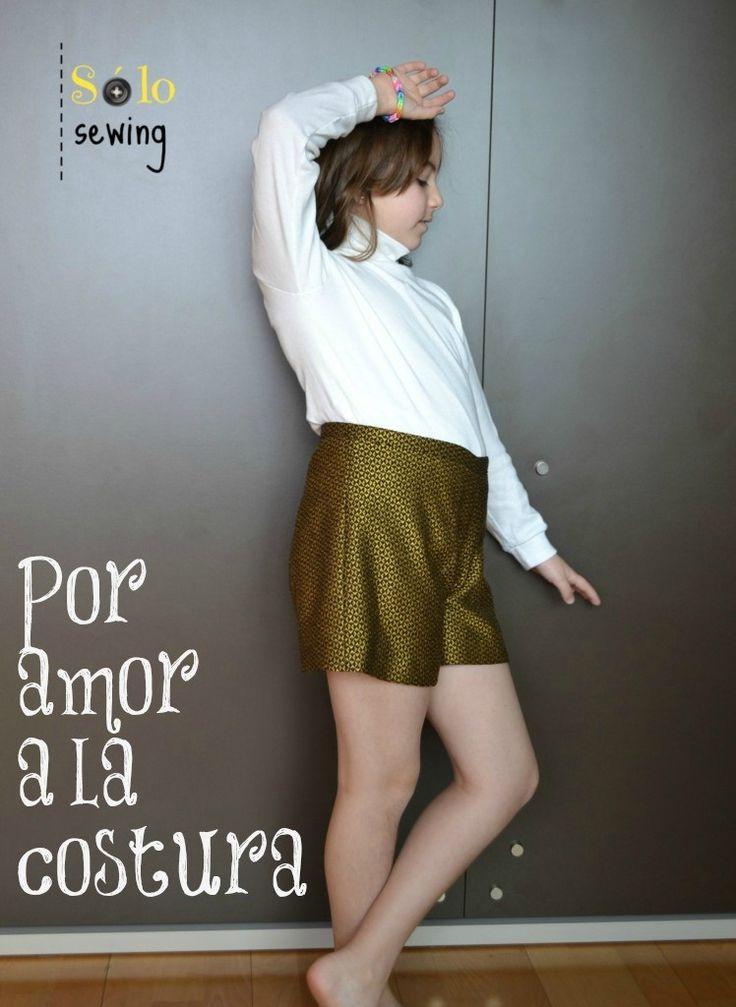 Ottobre Design, 6/2014 Shorts dorados