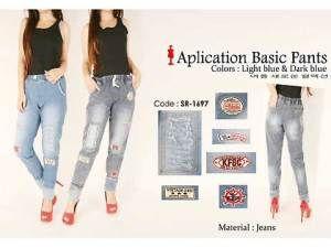 D21697 Ripped Jeans  harga eceran : Rp. 137.000 / item (1 -2 pcs) harga grosir Rp 117.000 / item (3 pcs atau lebih) belum termasuk ongkir detail D21697 Ripped Jeans :  bahan jeans kerut pinggang embed dan aksen robek 2 kantong Pemesanan via SMS Anda dapat melakukan pemesanan melalui SMS dengan format sebagai berikut:  Nama | Alamat Lengkap | Produk Yang Dipesan | Jumlah Pesanan  kirim ke 085701111960