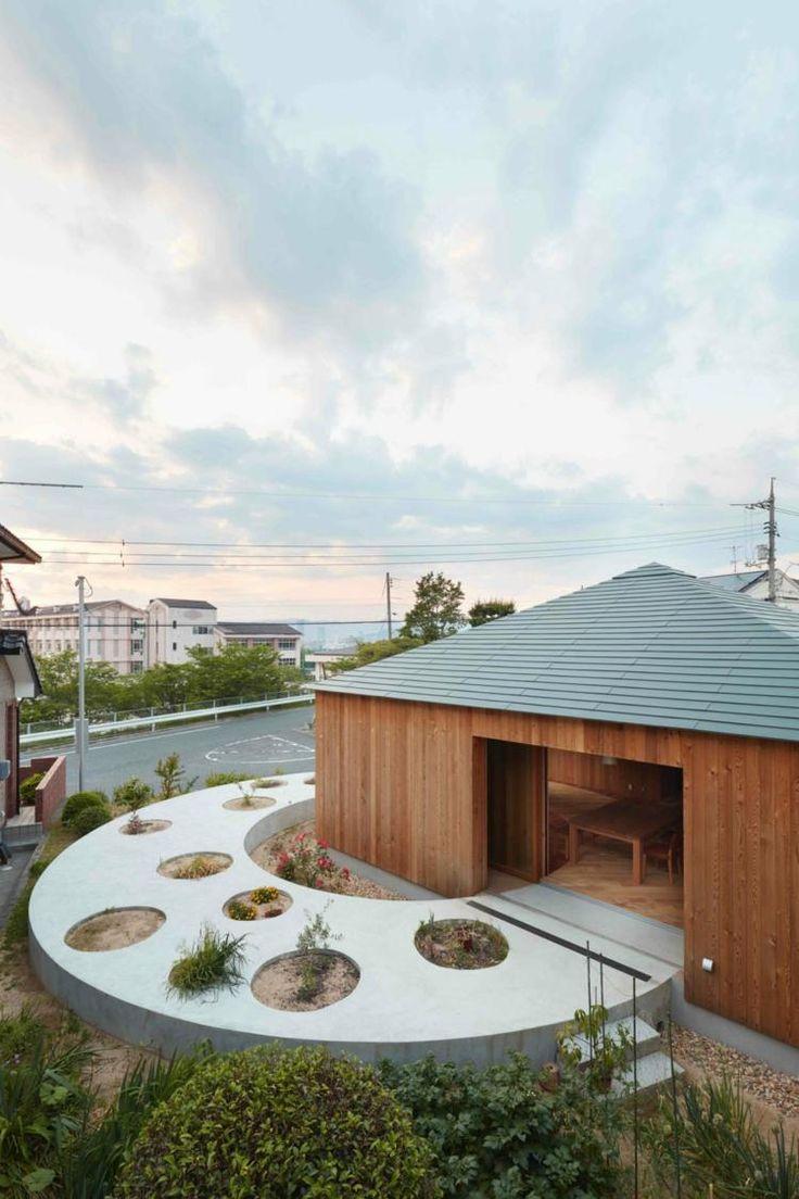 Ideal Schiebefenster trennen Haus von Garten