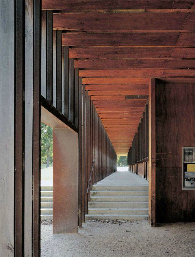 Sean Godsell - Woodleigh School Science Building, Vicoria 2002