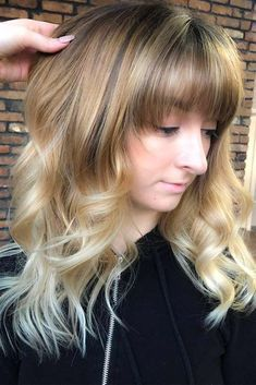 Amazing Layered Haircut With A Straight Fringe Straight or wavy long layered hair styles for all the types of hair choose the best haircut for you