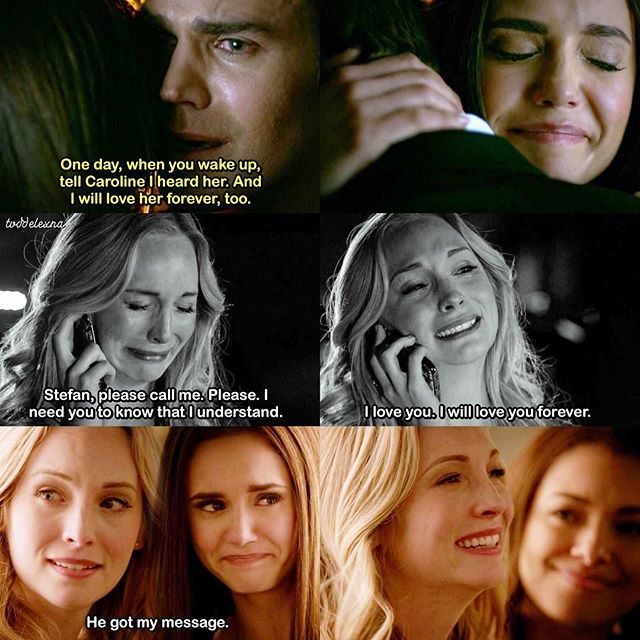 """Vampire Diaries You Want A Love That Consumes You Quotes: [8x16 """"I Was Feeling Epic""""] When It Comes To Steroline"""