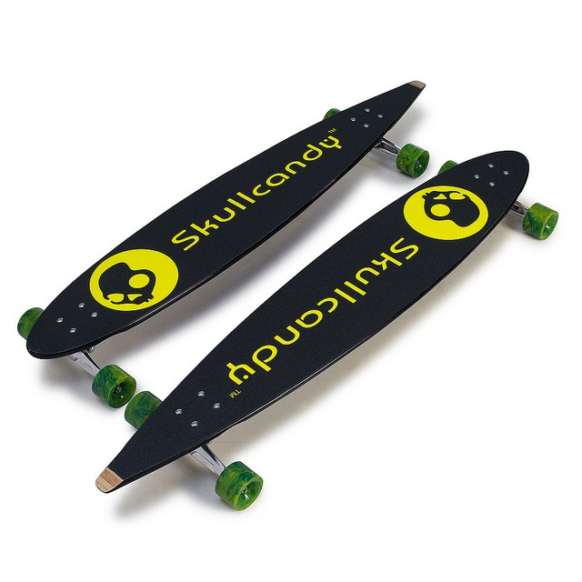 Longboards with custom grip tape