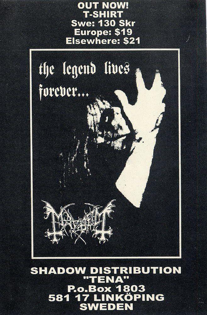 Band flyers (Norwegian Black Metal)-102