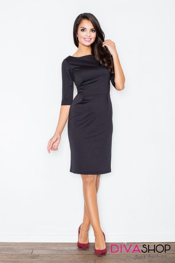 Rochie de ocazie eleganta negru