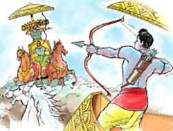 'Ravana lost battle with Lord Rama for his wife's betrayal'