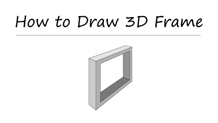 How to Draw Perspective Frame Lesson#03