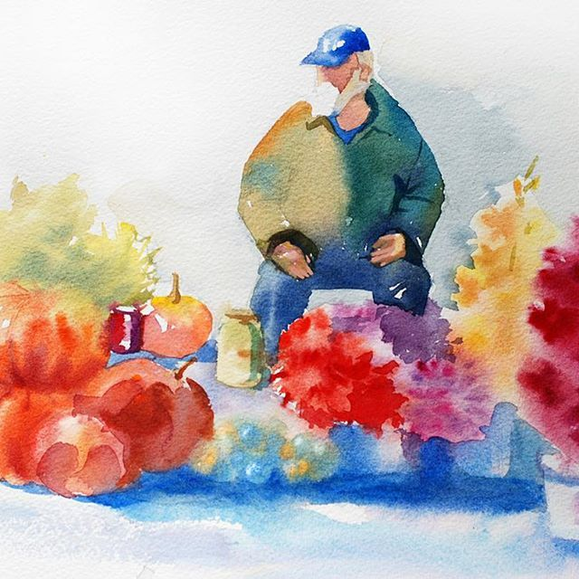 #sketch, #watercolor, #зарисовки, #акварель #иллюстрация, #painting, #illustration