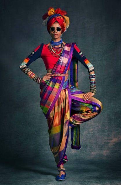 www.cewax aime la mode ethnique, tribale, afro tendance, hippie, boho chic... Tarun_Tahiliani