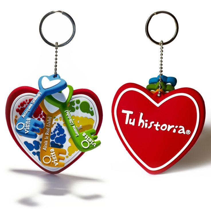 Si aún no sabes cómo decirle cuanto l@ quieres, Tu historia te propone #experiencias #AlcalálaReal #Antequera #Écija #Lucena #PuenteGenil Llave Tu historia (caducidad 2 años) Atrévete a ser diferente, regala #emociones #SanValentín www.tuhistoria.org