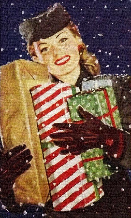 die besten 25 1950er jahre weihnachten ideen auf. Black Bedroom Furniture Sets. Home Design Ideas