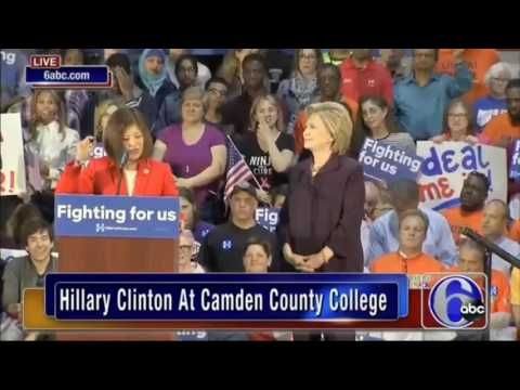 Hillary Clinton laughs as woman removes 'under God' from Pledge of Allegiance - Washington Times