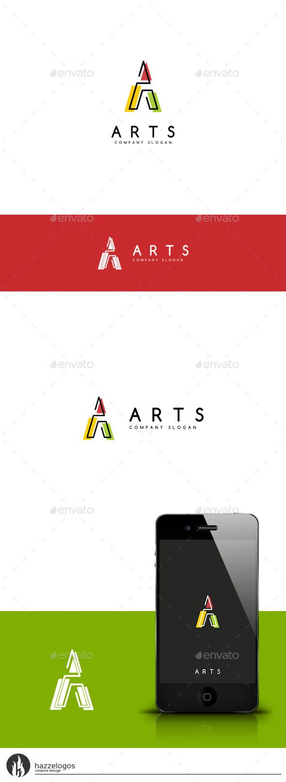 Logosmartz custom logo maker 5 0 review and download - Arts Letter A Logo