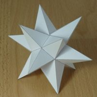 how to make 3d shapes out of paper for kids