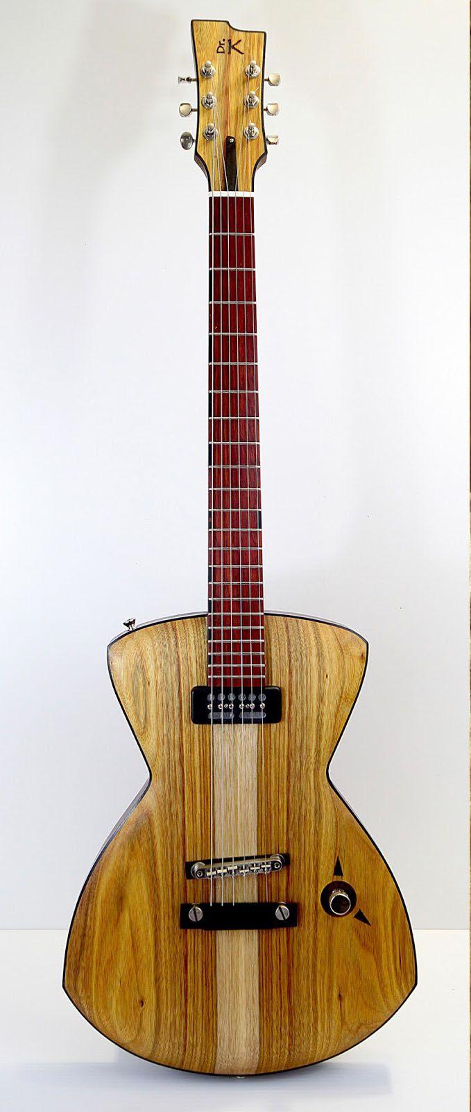 Dr K S Exoti K1 Handmade In Montreal Canada Guitar Design Guitar Homemade Instruments