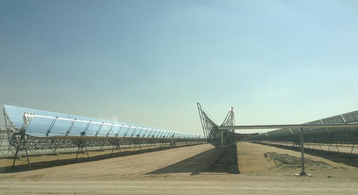 Largest Single-Unit Concentrated Solar Power Plant In World -- Shams 1 (CT Exclusive) | CleanTechnica