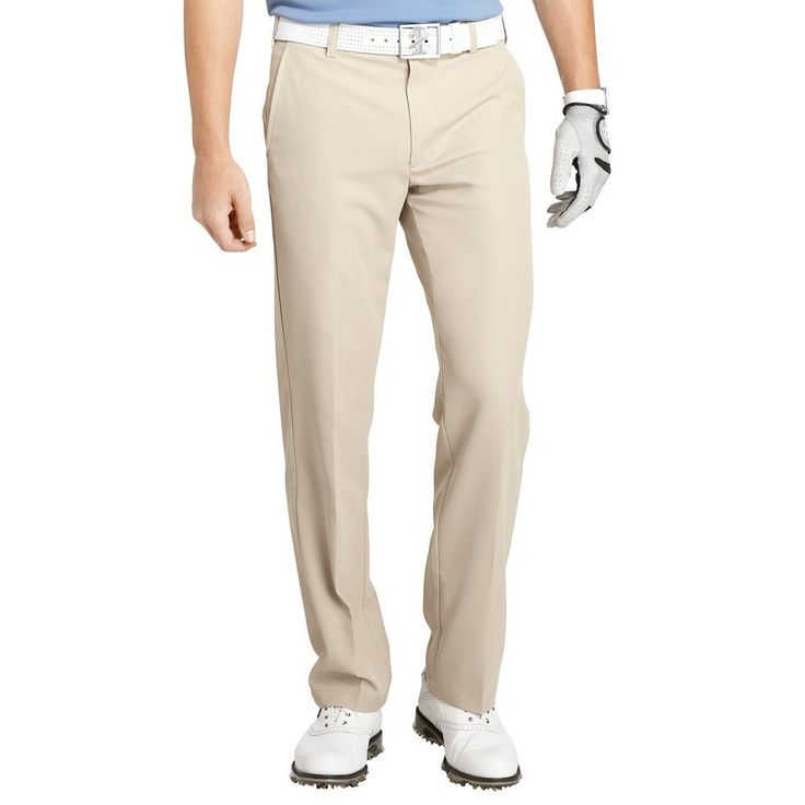 Men's IZOD Slim-Fit Performance Golf Pants, Size: 38X30, Beige Oth