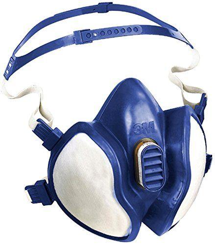 3M – FFA2P3R D 4255 – Masque Demi sans Entretien à – Filtres Intégrés – 1 Pièce – Blanc: Conception compacte pour une meilleure vision…