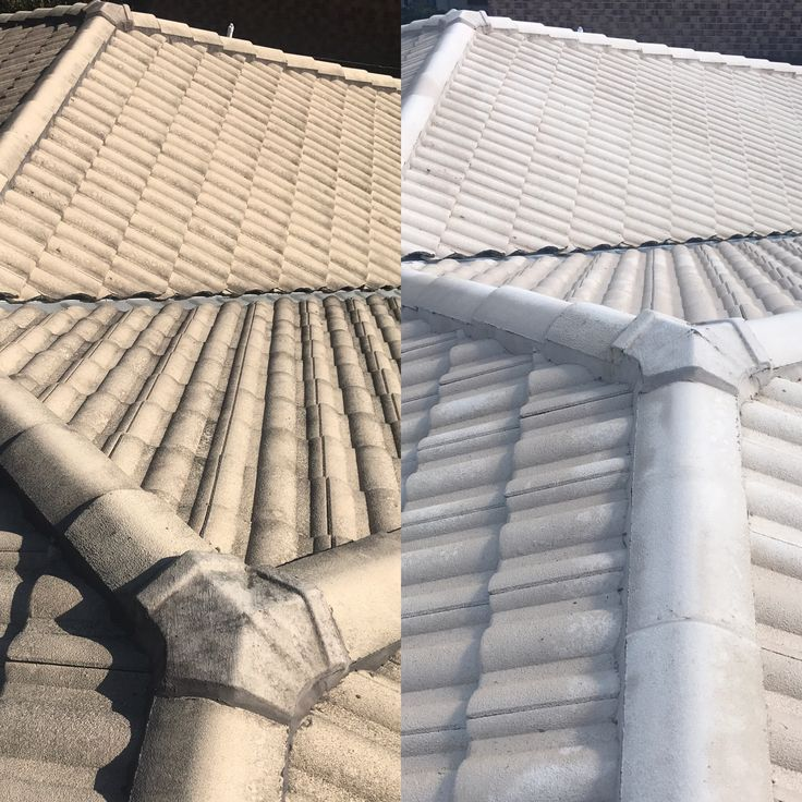 Roof cleaning by www.waterworxpressurecleaning.com.au