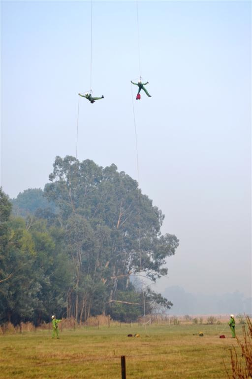 DSE rappel crews have played a significant role in the 2012/13 fire season.