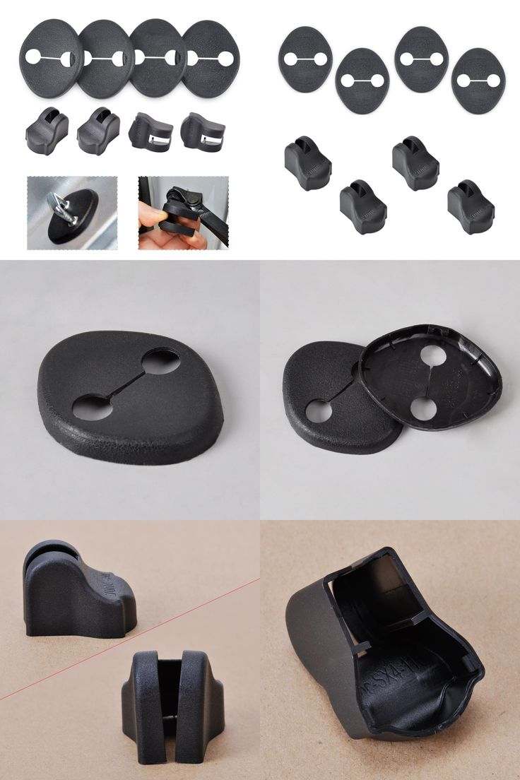 [Visit to Buy] Car Door Striker Cover Lock Protector Stopper Buckle Case Cap Check Arm Cover For Hyundai IX35 Sonata 8 2010 2011 2012 2013 2014 #Advertisement