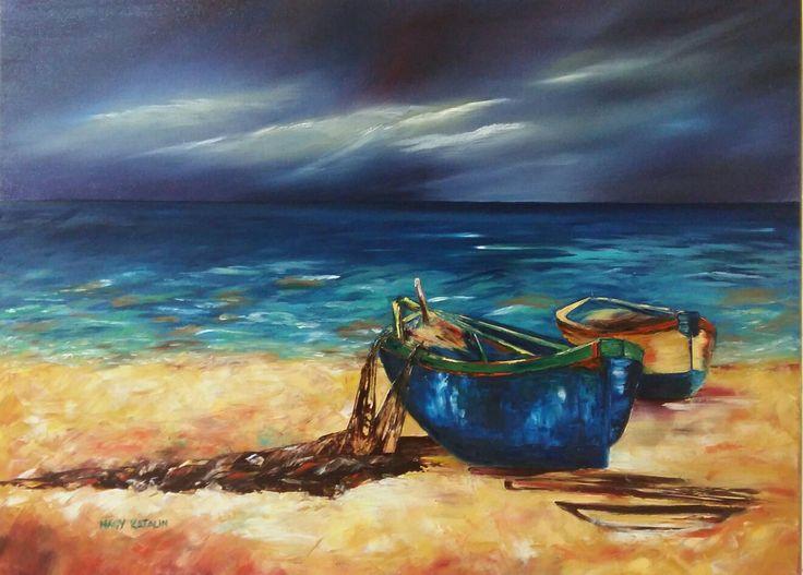 V Szakácsi Éva festménye alapján 50x70 vászon