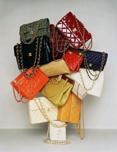 rainbow of chanel...drool: Chanel Handbags, Fashion, Chanel Bags, Chanel Purse, Style, Design Handbags, Lv Bags, Chanel Chanel, Purses