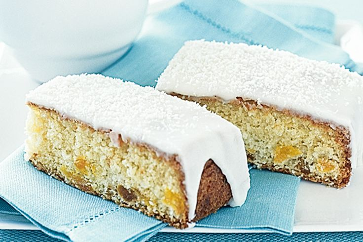 Made with dried plump apricots, this moist tea cake is easy to whip up for special gatherings.