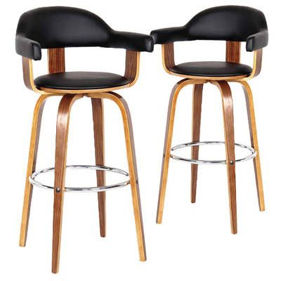 Siena High Back Barstools (Set of 2) by Rowland & Archibald. Get it now or find more Bar Stools at Temple & Webster.