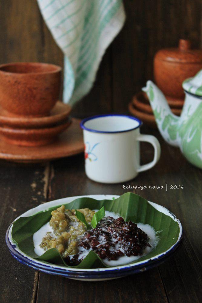 bubur kacang hijau ketan hitam