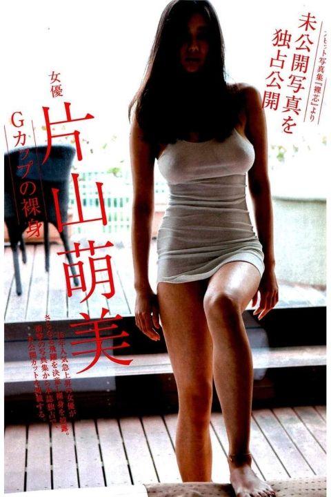 片山萌美ヘアヌード未公開カット!2ch「ナマ乳輪も見えてる」「垂れ乳最高」(※画像あり) | 動ナビブログネオ