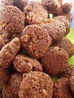 Zabpelyhes-kakaós-diós keksz (Nagyné Szalai Melinda egészség blogja)