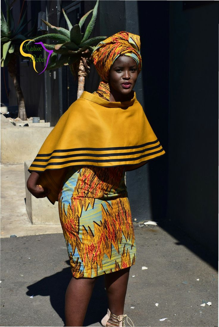 @native robes Xhosa inspired