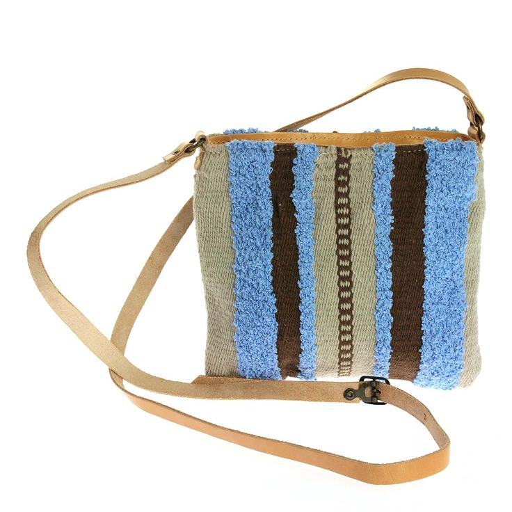 """LOOM handmade woven cross body mini size bag, """"Adrastia""""!!! http://etsy.me/1GuLmUm #Loom #Woven_with_Grace_and_Artistry #unique #handmade #crossbody #bag #woven #and #leather #together"""