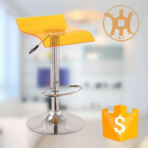 hck090 clear lucite acrylic bar stool legs metal3v plastic chair