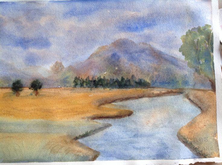 River by Lisbeth Watkins
