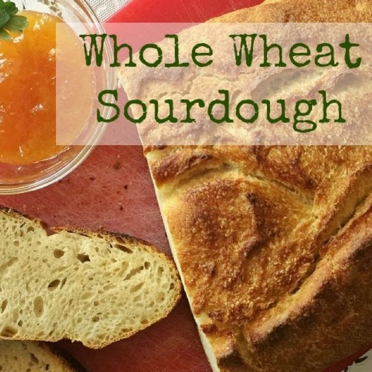 Whole Wheat Sourdough Recipe by Bryee Shepard, MS, RD, Vivante's very own Care Team Member, and blogger at Tasteful Wisdom! #donthateyourguts #vivantehealth