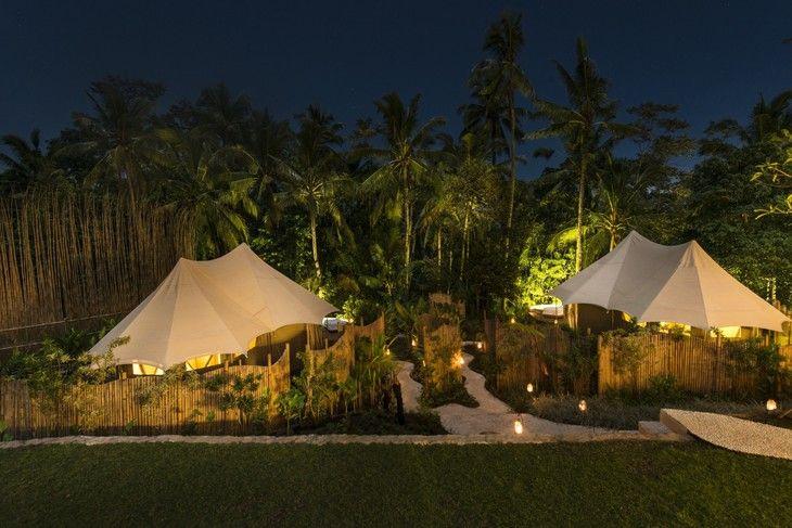 Glamping Sandat luxurious camping