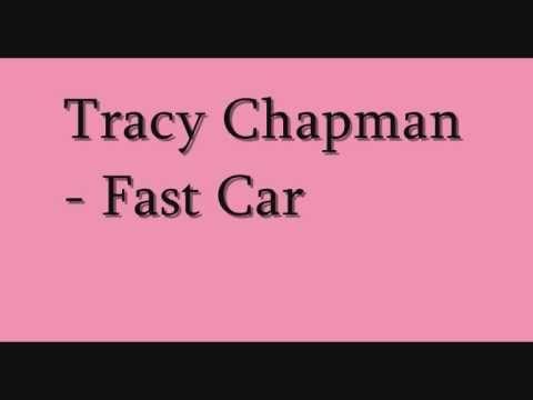 tracy chapman - fast car ( with lyrics )