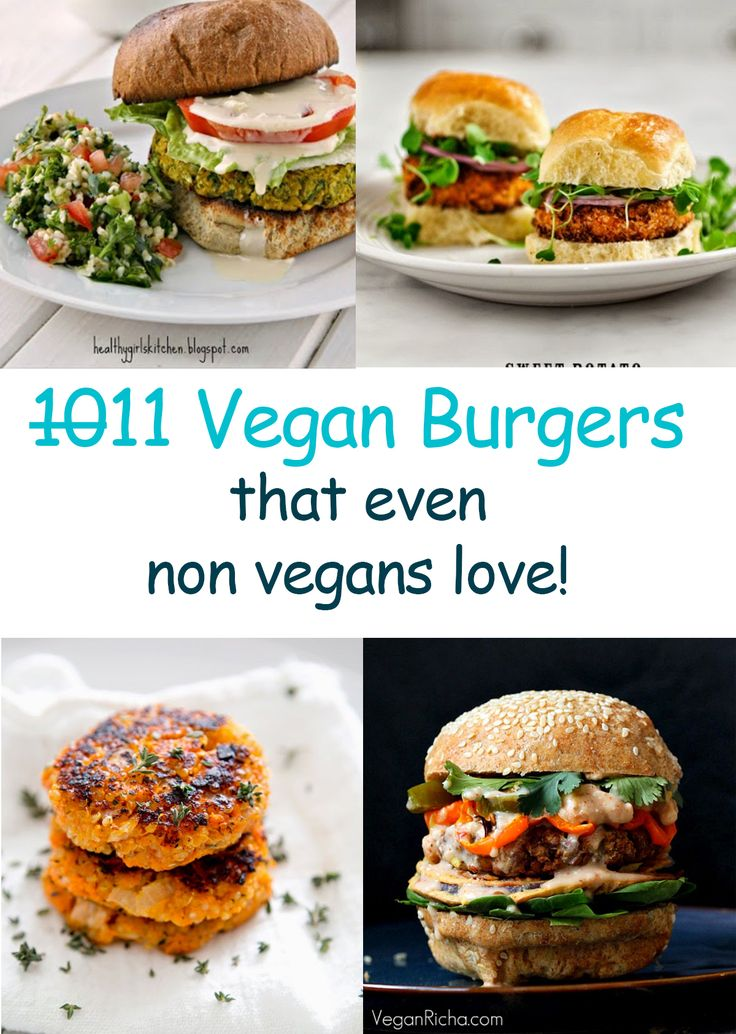 Vegan Burgers that are so good even non vegans love them! | Organize your favourite recipes on your iPhone or iPad with @RecipeTin! Find out more here: www.recipetinapp.com #recipes #vegan