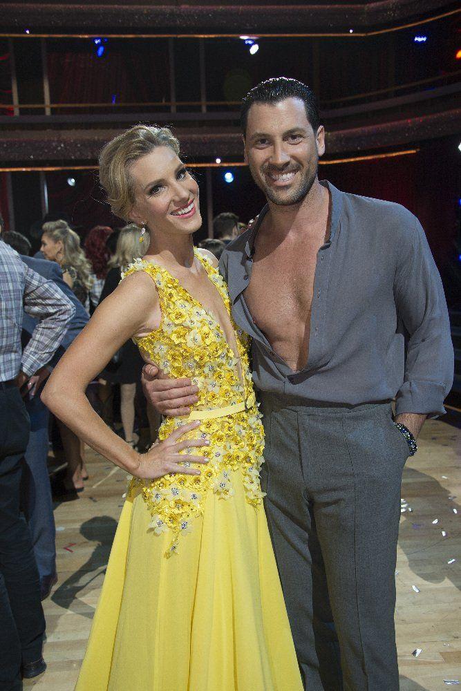Heather Morris and Maksim Chmerkovskiy - Dancing with the Stars partners Heather Morris and Maksim Chmerkovskiy
