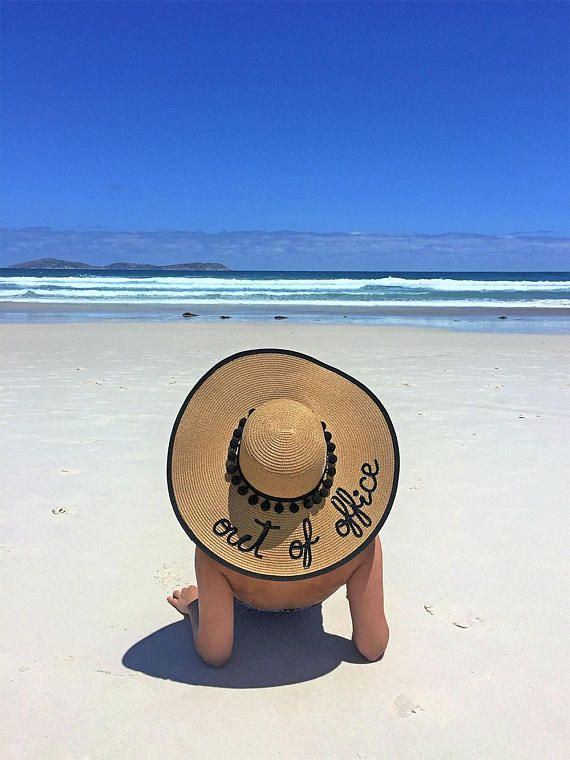 0c775eded Out Of Office Hat | Gift for Colleague | Vacation Hat | Travel Gifts ...