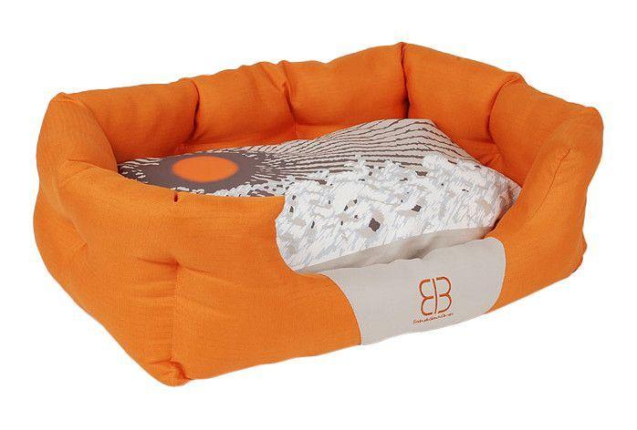 Sun Blossoms Bolster Dog Bed