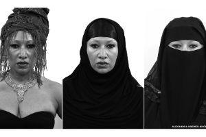 Projeto com véus islâmicos explora relação entre rosto e liberdade - BBC - UOL Notícias
